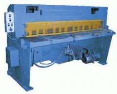 Crank shears for sheet metal НК3418Р