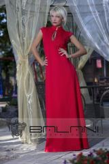 Вечерняя одежда  Платье в пол (1086/ТР)/ красное