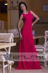 Длинное платье  Платье коралл (295/А2)