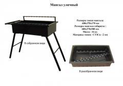 Мангал уличный, уличная печь мангал, уличные мангалы барбекю, уличные мангалы цена, уличные мангалы Одесса купить