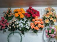 Изделия ритуальные похоронные, букеты могильные