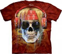 Mountain 3D The t-shirt - Rocker Skull - 2014 the