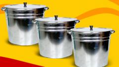 Баки оцинкованные емкостью 15 и 32 литров для