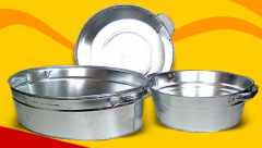 Tazy are galvanized, with a capacity of 13 and 21