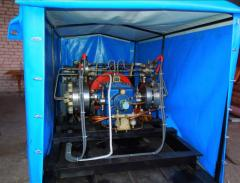 Production of the pressurizing compressors