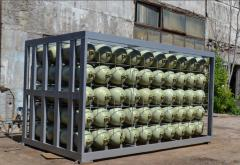 Production of accumulators of gas