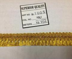 Бахрома  Арт 1005-1 золото