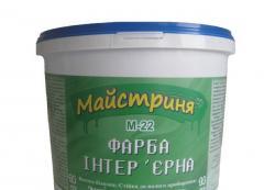 Краска, краска водоэмульсионная Мастерица М-22
