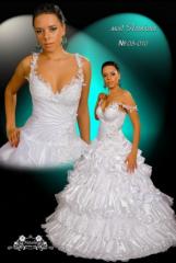 Платья свадебные пышное 08-010