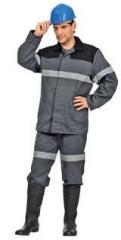 Одежда для шахтеров,  костюм Горизонт.