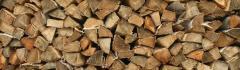 Firewood from a beech