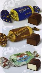 Конфеты помадные Наслажденье шоколадное, кокосовое, экзотическое