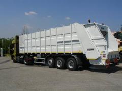 Транспортный мусоровоз серии SUPER спроектирован и предназначен для использования в системах двухэтапного сбора и вывоза отходов.