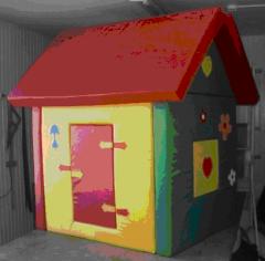 Мягкий игровой модуль «Домик» (Трансформируется в