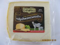 Cheese semisolid of goat milk