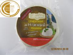 Рикотта из сыворотки козьего молока latteville