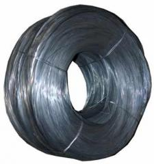 The lashing wire which is thermally processed