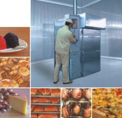 The equipment overworking for the meat and dairy