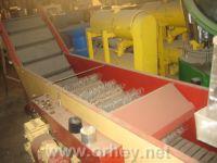 Meyve ve sebze yıkama için makinalar