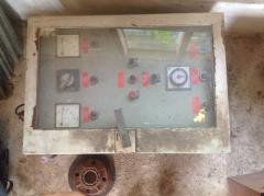 Alfa Laval separator panel