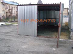 Garages metal folding 9200,00 UAH!!!! ACTION!!!