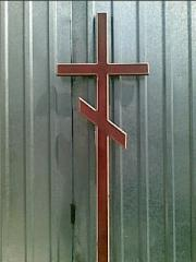 Крест деревянный крашеный
