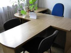 Изготовление под заказ столов  руководителя в