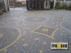 Тротуарная плитка Старый город 6