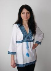 Рубашка вышиванка украинская женская или мужская с