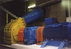 Hydraulic turbines flowing Cink-Banki systems