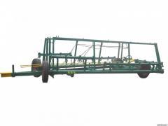 Hitch for harrows hydraulic SG-12.5
