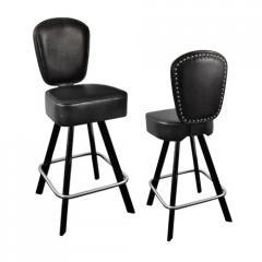 Мебель для казино, Cтулья на пневмопатронах,  стулья с поворотно-возвратным механизмом для игорных заведений, баров, Индивидуальное изготовление, С логотипом