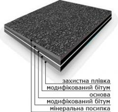 Euroroofing material Akvaizol. Roofing material