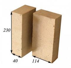 Brick fire-resistant ShA-6