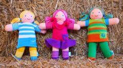 Набор 3 игрушки «Куклы»: Маринка, Малинка, Ярынка