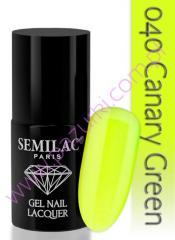 Гель-лак canary green