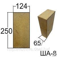 Brick fire-resistant ShA-8