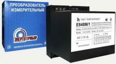 Measuring transducers Series E - E848M