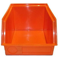 Containers from plastics