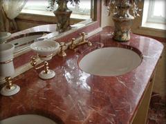 Столешница для ванной комнаты по умывальники
