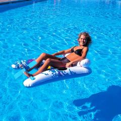 Raft inflatable with pedals of 145х94 cm
