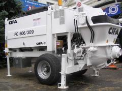 CIFA 506/309 50 concrete pump of cubes