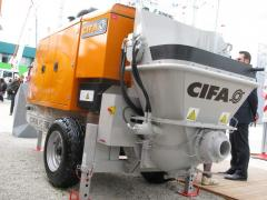 CIFA 506 concrete pump