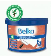 Краска полиакриловая высокоукрывистая Belka для