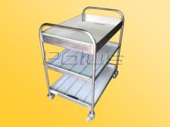 The cart for collecting dirty ware