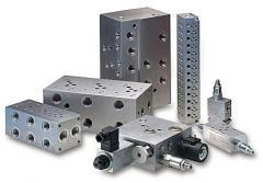 Blocks (cases) of valves hydraulic, blocks of