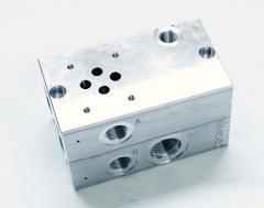 Блоки (корпуса) клапанов гидравлические, блоки
