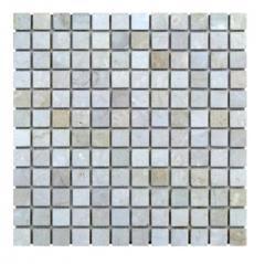 Мозаика из мрамора для ванной комнаты