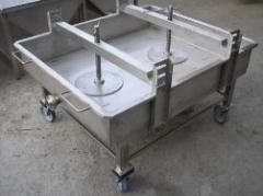 Bath podpressovochnaya. Presses food