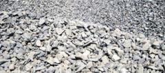 Щебень из природного камня для балластного слоя